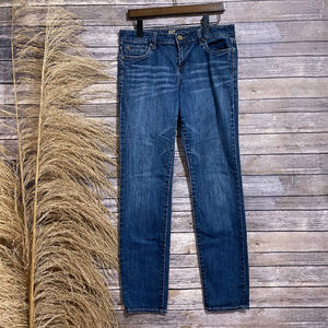 8 Kut From the Kloth Blue Straight Leg Jeans